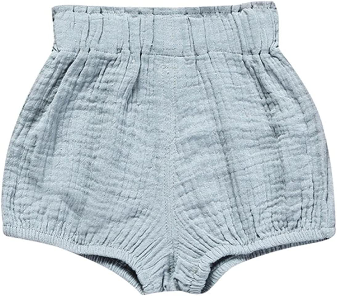 Pollyhb Baby Girls Boys Triangle Shorts Winter Infant Toddler Children Girls Boys Solid Shorts Big PP Pants
