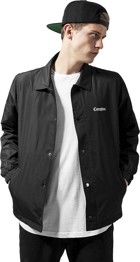 0a792fa9c5 Mister Tee Uomo Compton Coach Jacket Giacche: Amazon.it: Abbigliamento