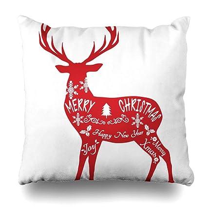 Christmas Reindeer Silhouette.Amazon Com Alricc Merry Christmas Reindeer Reindeer