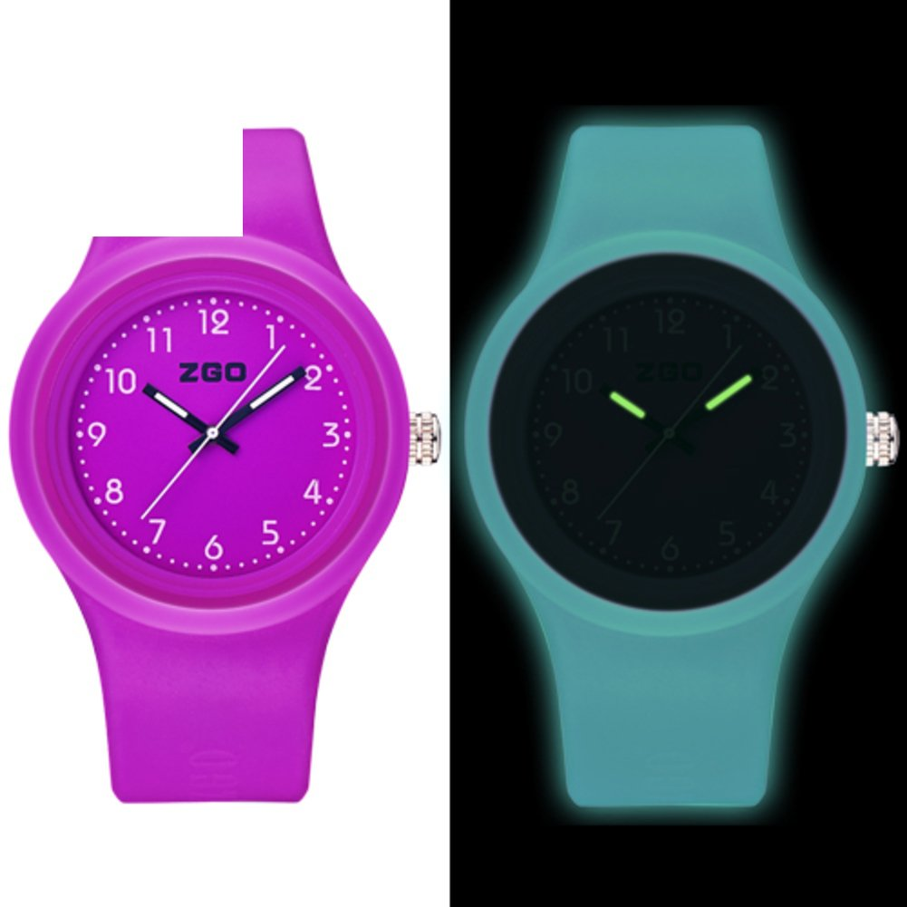 Luminous waterproof watch/Korean version of the simple matching watches-I