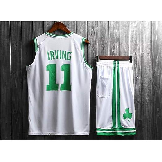 HS-ATI NICE Camisetas de Baloncesto, Kyrie Irving- Boston Celtics ...