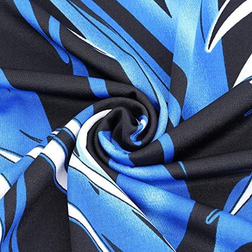 XL Novias Trapze Boutique Femme Blue Medium Leave Jupe RUUzca7