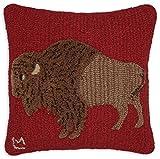 Chandler 4 Corners Plush Buffalo 18'' Pillow