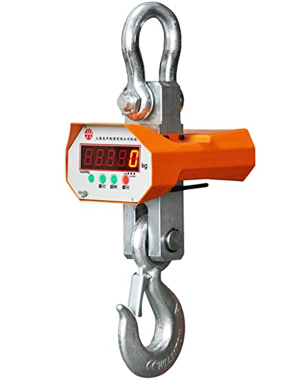 Amazon.com: MXBAOHENG 2000Kg (2 Ton) Digital Hanging Electronic Crane Scales Industrial wirless Crane Scale: Home & Kitchen