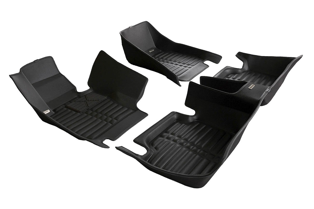 Largest Coverage Full Set - Black Also Look Great in the Summer./The Best/BMW 3-Series Accessory. TuxMat Custom Car Floor Mats for BMW 3-Series xDrive 2012-2018 Models/- Laser Measured The Ultimate Winter Mats All Weather Waterproof