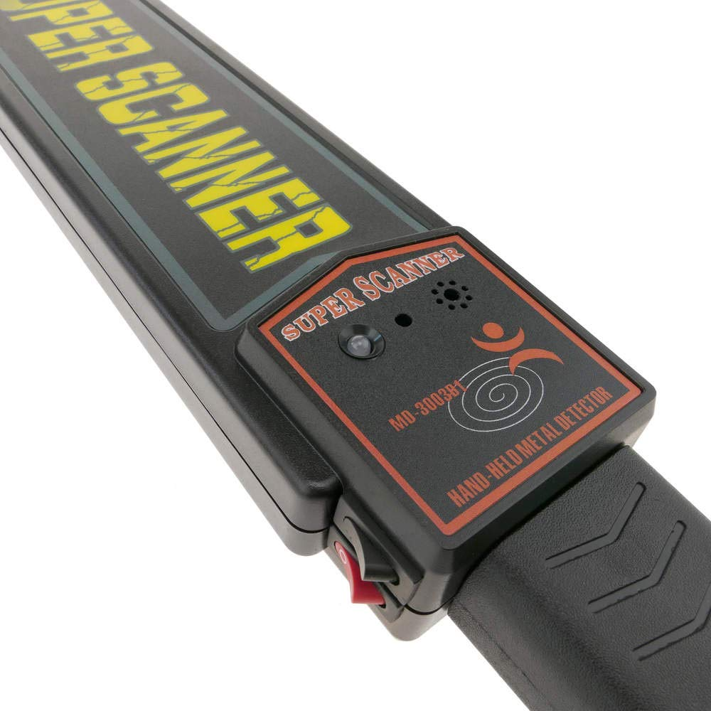 PrimeMatik - Detector de Metales para Vigilantes de Seguridad con Doble Nivel de sensibilidad: Amazon.es: Electrónica
