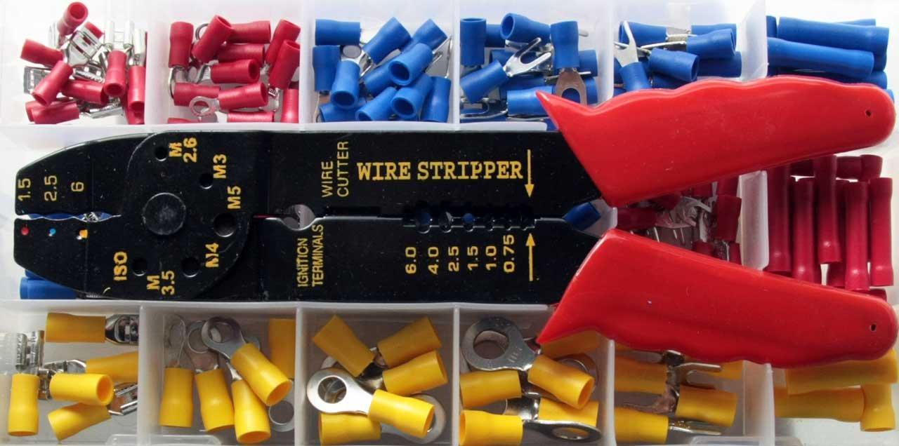 600 Scarpe Cavo//Cavo Scarpa GIALLO Assortimento Set isolato per cavo 4,0-6,0 mm²