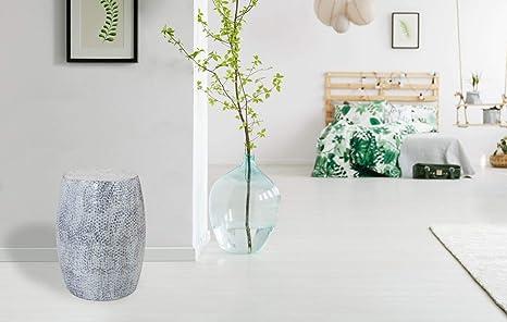 Kayoom sgabello in metallo sgabello bianco grigio design moderno
