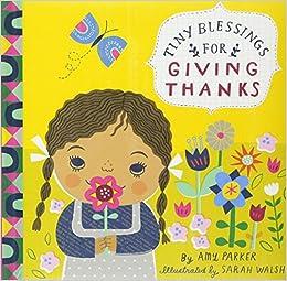 tiny blessings for giving thanks running press