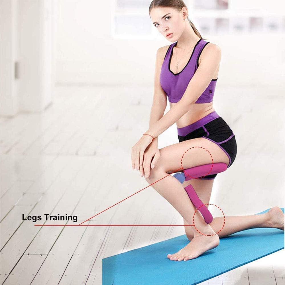 Muslos Caderas Brazos XVBABY Aparato de piernas de Ejercicios multifunci/ón Muslos internos Ejercitador Maestro Ejercitador de piernas Ideal para Cintura Gran Equipo de Gimnasio