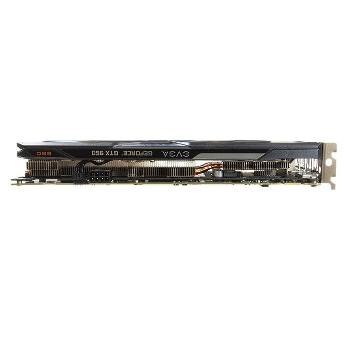 EVGA GeForce GTX 960 - Tarjeta gráfica de 2 GB GDDR5
