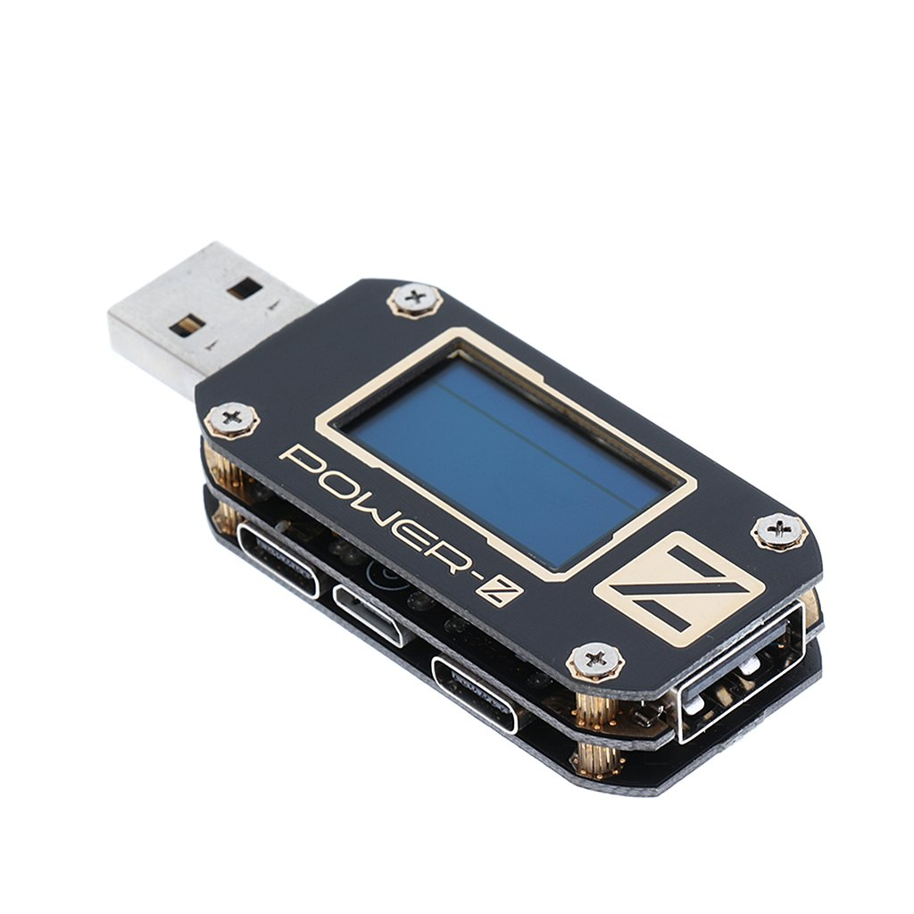 MagiDeal Digital USB QC3.0 QC2.0 Tester Voltage Current Ripple Meter with OLED Display