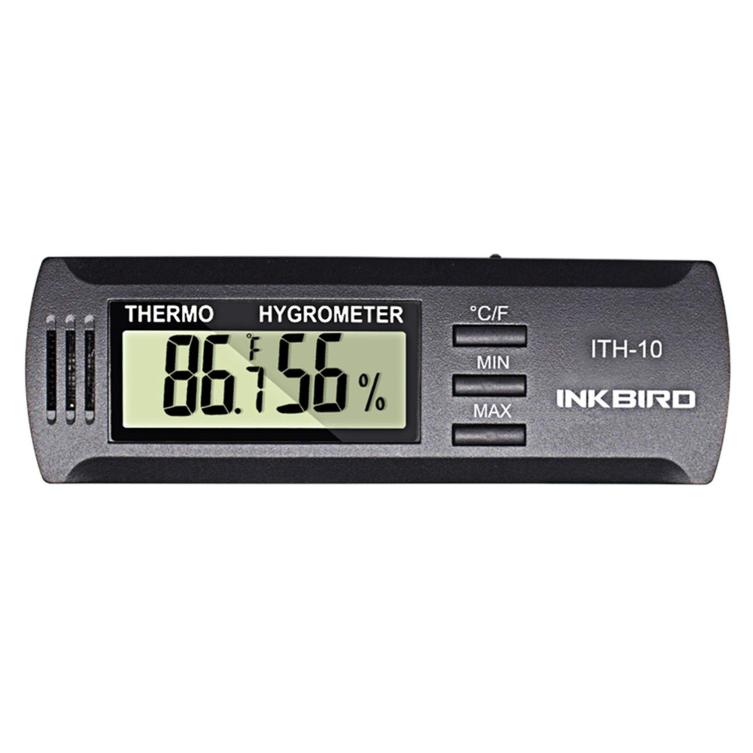 Inkbird Dc 3V Input Digital Thermometer Humidity Meter Hygrometer ITH 10
