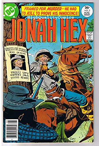 JONAH HEX #3, FN+, Scar face, Western, Fugitive ,1977, more JH in store ()