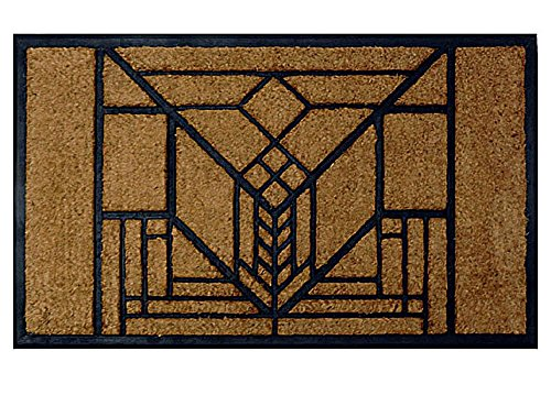 Frank Lloyd Wright Lake Geneva Tulip Doormat