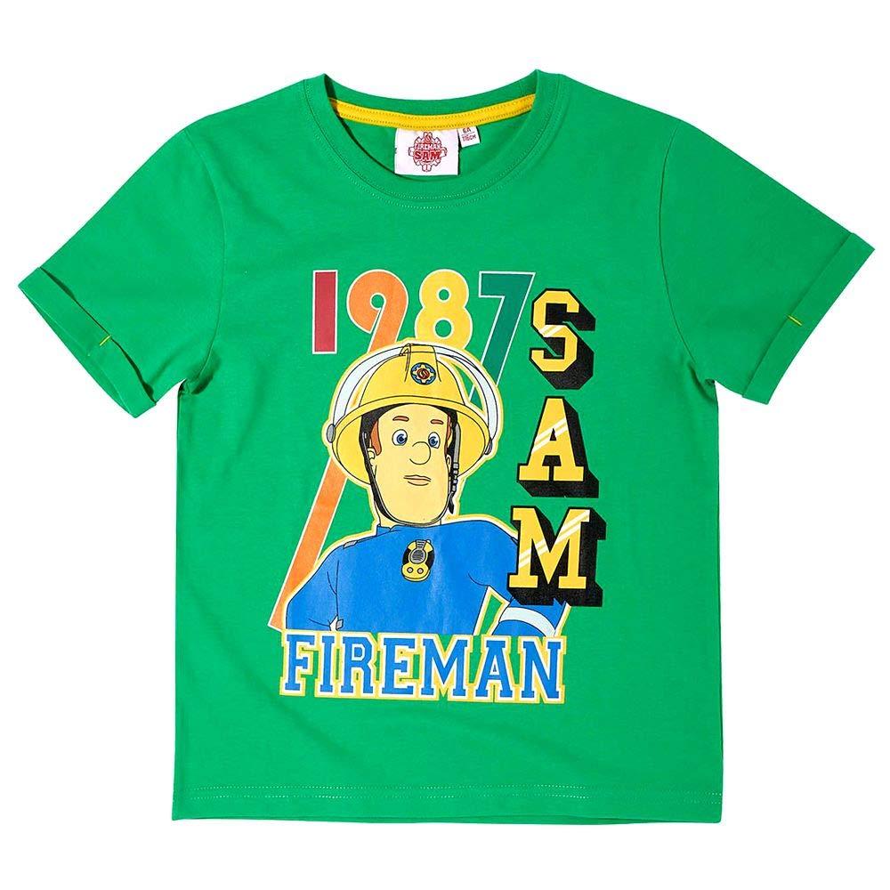 T-Shirt Unser HeldGröße 104-140Feuerwehrmann SamKinder Jungen Shirt