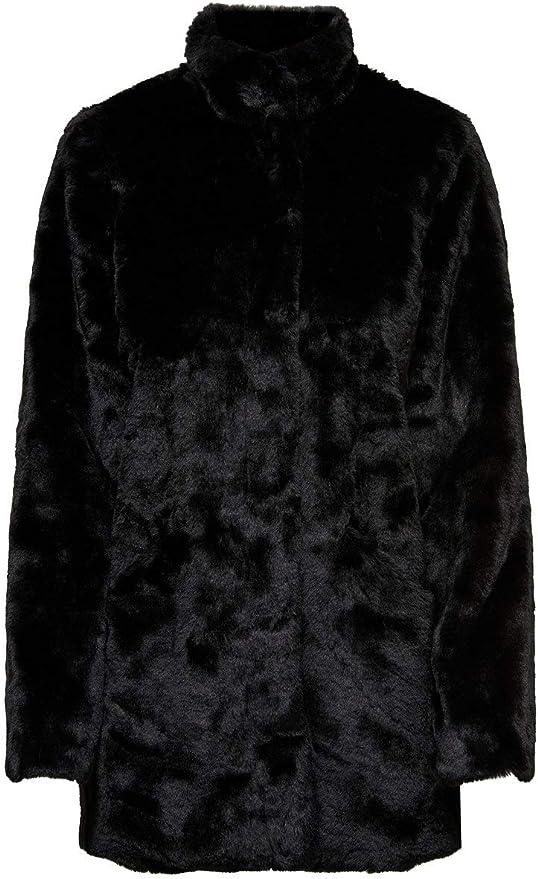 TALLA M. Only Onlvida Faux Fur Coat Otw Abrigo para Mujer