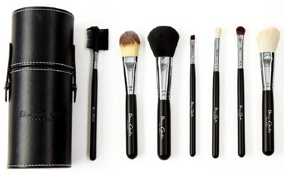 7 Piece Makeup Brush Set By Beau Gachis Cosmetics