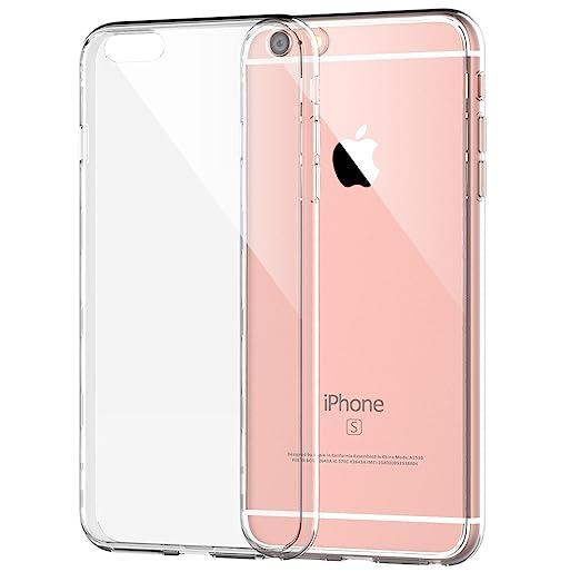 19 opinioni per iPhone 6s Plus Custodia, JETech Apple iPhone 6/6s Plus Case Custodia Bumper