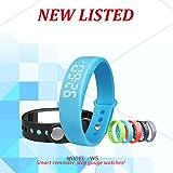 BINKO® W5 LED Smart Armbanduhr Sportuhr Schrittzähler Gesundheit Armbanduhr Aktivitätstracker FitnessArmband Kalorienzähler Schlaftracker