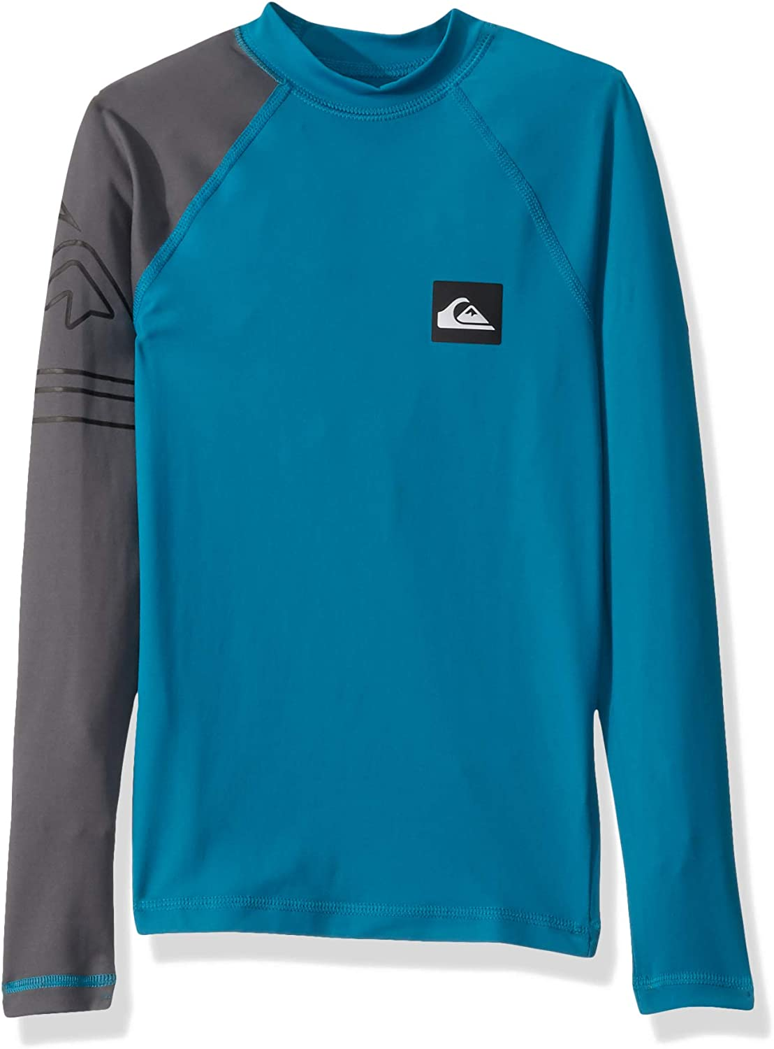 Quiksilver Boys Big Active Long Sleeve Youth UPF 50 Sun Protection