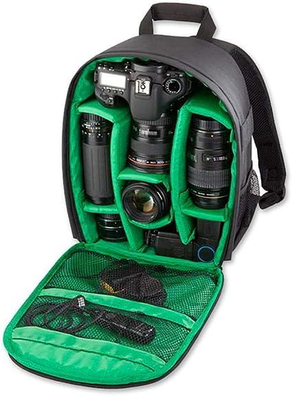 Sacoche Appareil Photo Reflex en Canon,Camera Bag Sac /à Dos Imperm/éable,Caisson /Étanche pour Nikon//Sony//Fujifilm//Panasonic,Cam/éra avec Fixation de Tr/épied pour SLR DSLR,Cam/éra Sans Miroir,Flash