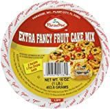 Paradise Extra Fancy Fruit Cake Mix, 16 Ounce Tubs (Pack of 3)