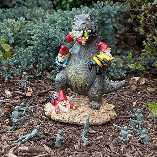 9 inch Garden Gnome Godzilla Statue