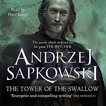 amazon com the tower of the swallow a witcher novel audible audio
