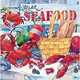 Seafood Celebration Napkin (Set of 16)