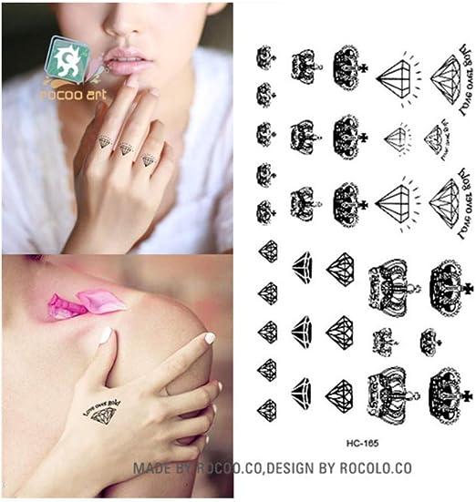 DRTHUKG Etiqueta Engomada del Tatuaje Papel De Tatuajes Temporales ...
