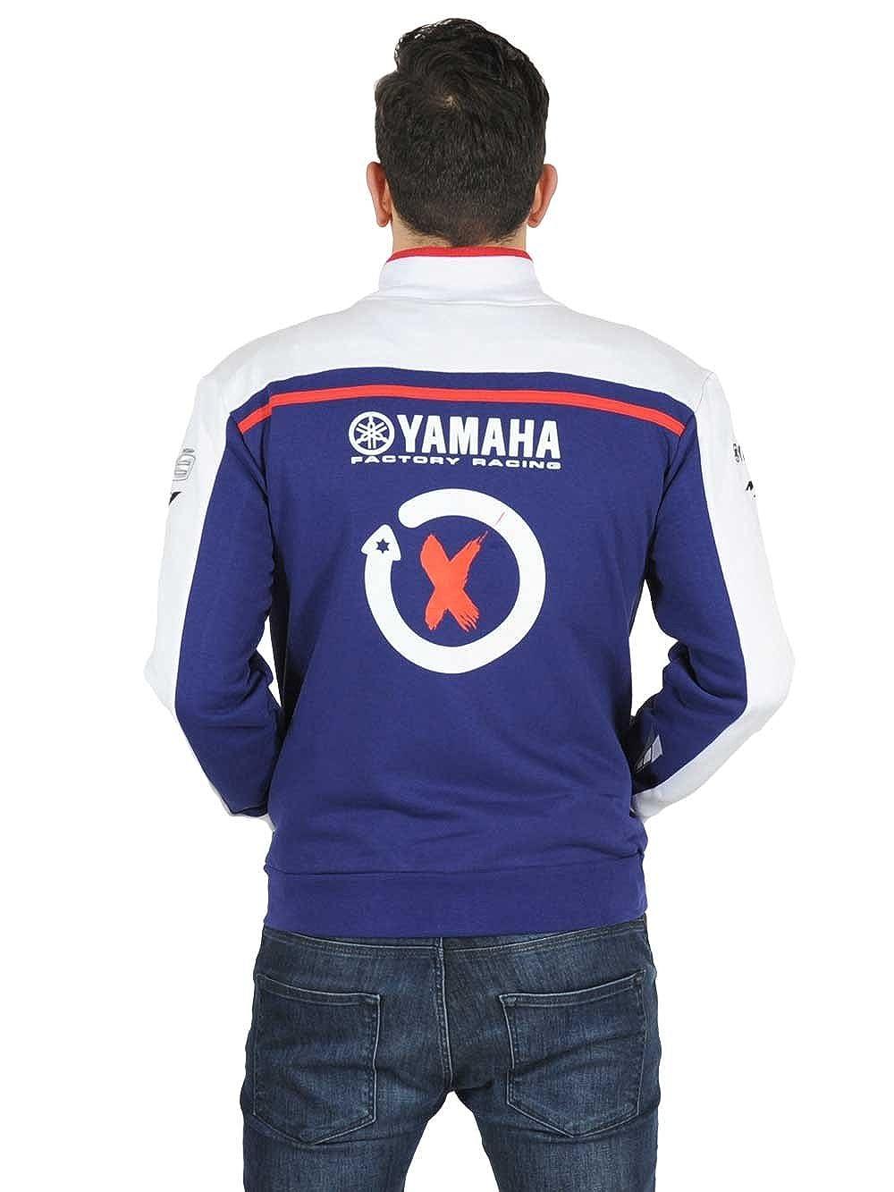 Yamaha Factory Racing Jorge Lorenzo JL99 - Sudadera - para Hombre Azul/Blanco XXL: Amazon.es: Ropa y accesorios