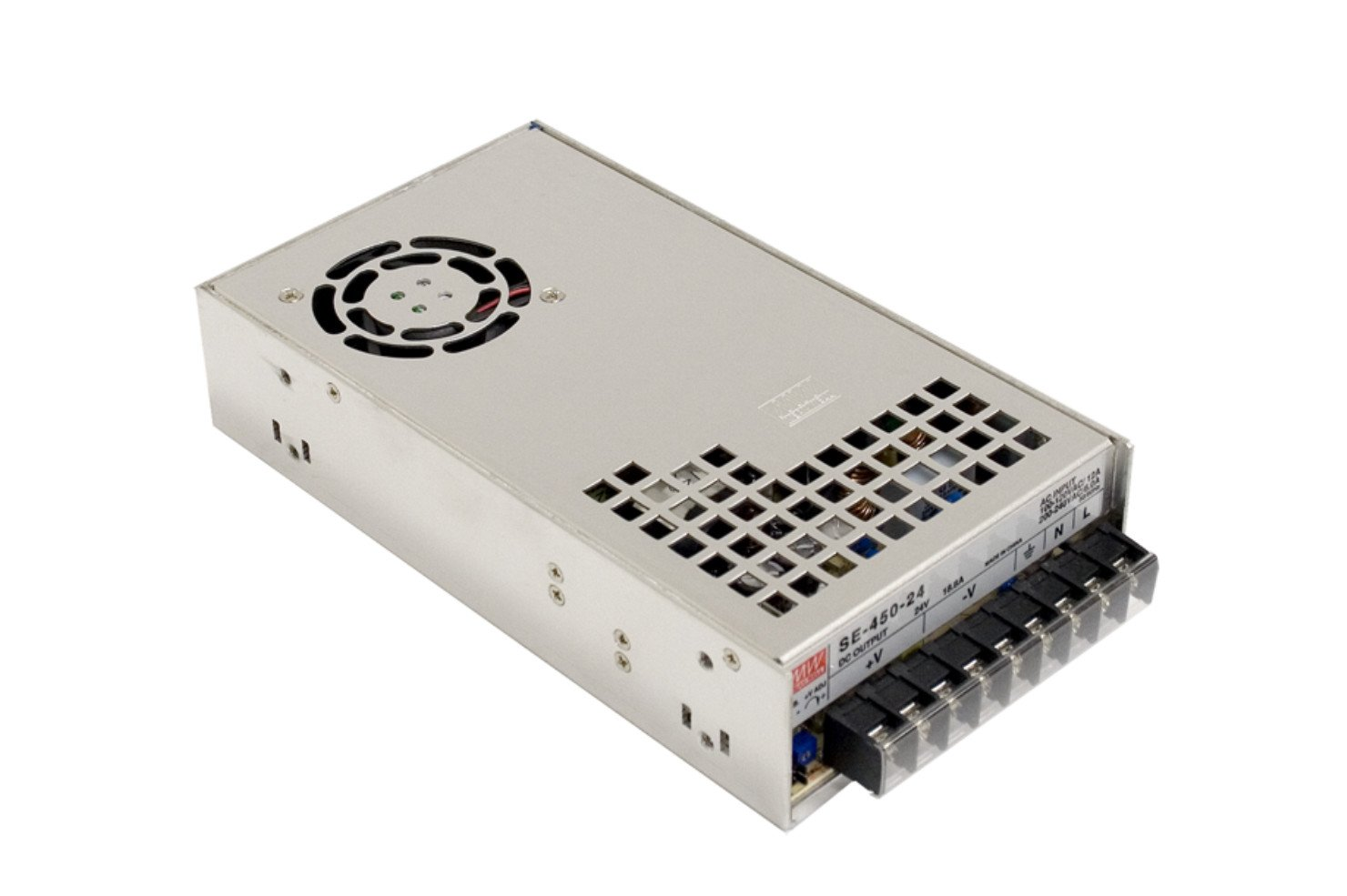 MEAN WELL original SE-450-24 24V 18.8A meanwell SE-450 24V 451.2W Single Output Power Supply