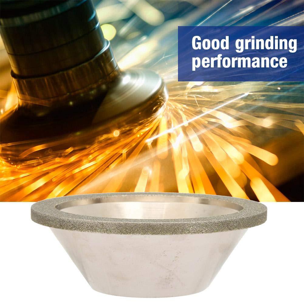 80 Zerone 10020mm Electroplating Diamond Grinding Wheel Abrasive Cup for Grinder Polishing Machine