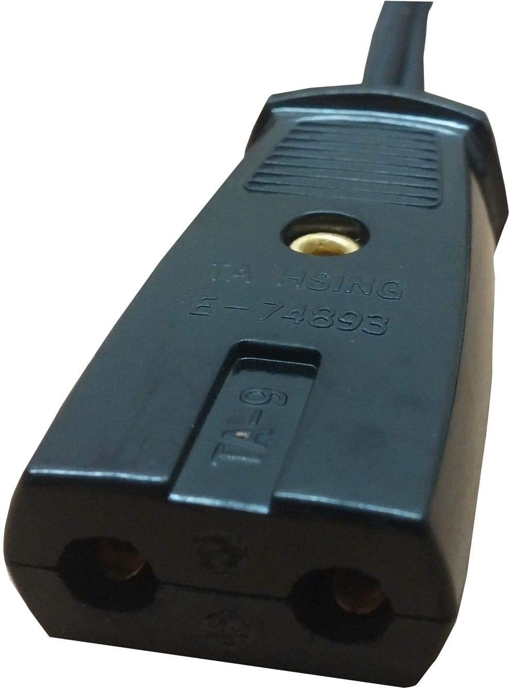 ZCH NIFER Supplies for West Bend Wok Power Cord Model 79525 79115 79125P 79625 79825T 80006 2pin Replacement