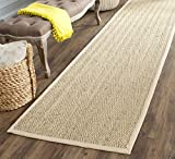 Safavieh Natural Fiber Collection NF115A Herringbone Natural and Beige Seagrass Area Rug (2'6″ x 4′) Review