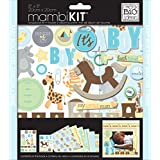 me & my BIG ideas 8-Inch x 8-Inch Scrapbook Page Kit, It's a Boy