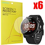 For Amazfit Stratos Screen Protector, Lamshaw Premium High Definition Ultra Clear for Amazfit Stratos Multisport GPS Smartwatch (6 pack)