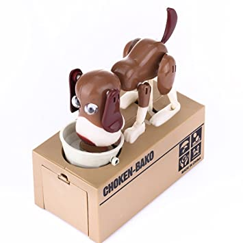 Buy Cool Mechanical Adorable Kid Coin Dog Kid Coin Bank Saving Box Puppy Hungry Robotic Dog Money Collection Online At Low Prices In India Amazon In