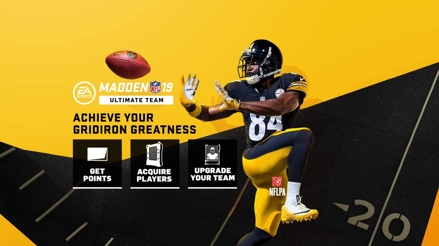 Amazon com: Madden NFL 19: MUT 2200 Madden Points Pack