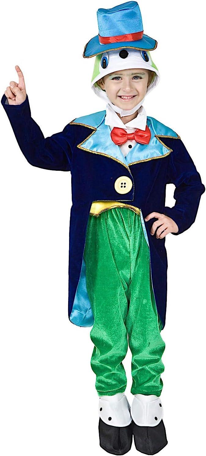 VENEZIANO Disfraz GRILLO DE PINOCHO Vestido Fiesta de Carnaval ...