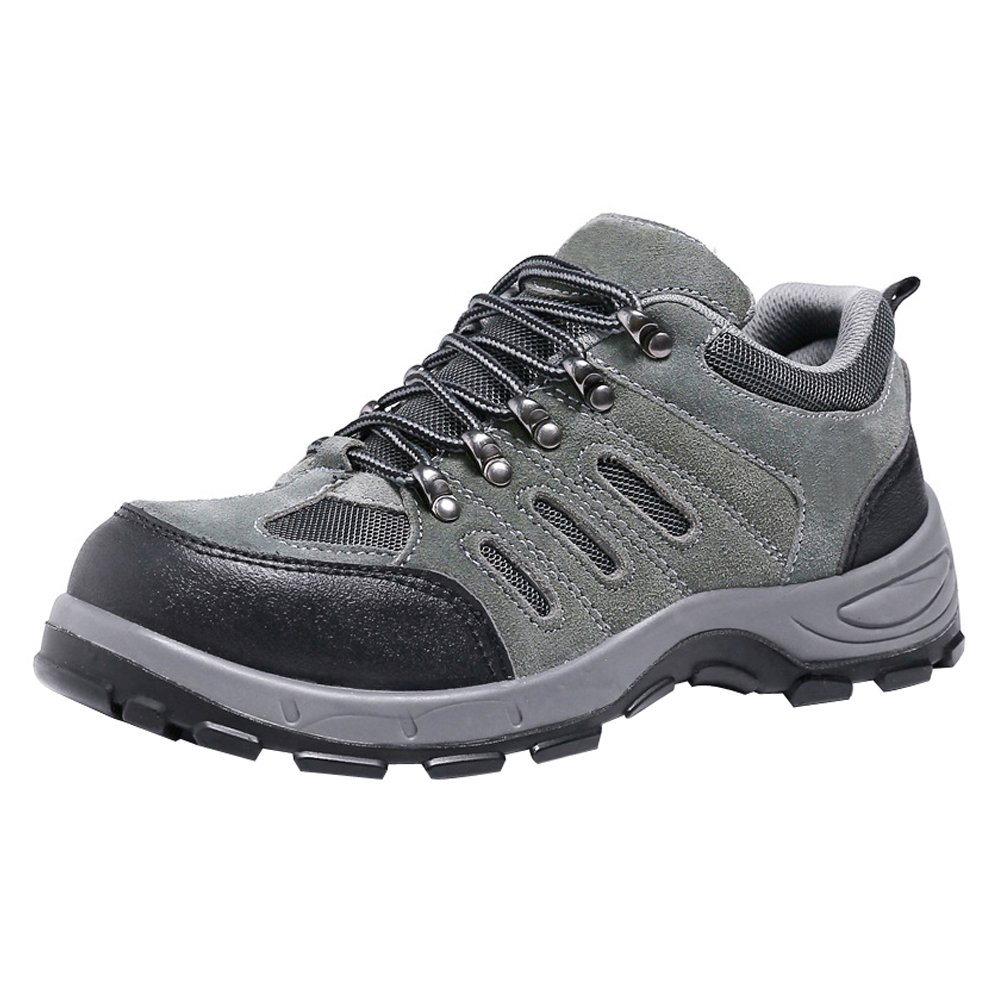 7d7f06be172 Amazon.com: TeLe Xia Mens Safety Shoes Steel Toe Fashion Work Boots ...