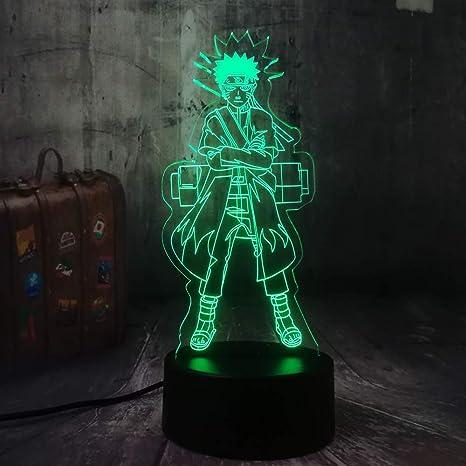 Lámpara 3D Lámpara de noche LED Mesa táctil Lámpara de ...