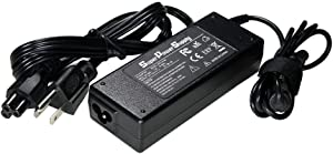 Super Power Supply AC / DC Adapter Charger Cord for Hp Envy Ultrabook 4 4-1000 4-1030ca 4-1030us 4-1050ca ,Envy Pro Ultrabook 4 B8u90ut B8u91ua B8w19aa ,Envy Sleekbook 4t 4t-1000 ,6 6-1000 6-1010us 6-1040ca 6-1048ca 6-1083ca ,6z 6z-1000 ,6t 6t-1000 ,Envy Spectre Xt Ultrabook 13 13-2000 13t 13t-2000 65W Netbook Notebook Battery Plug Replacement Spare