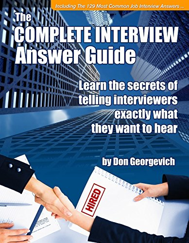 Complete Interview Answer Guide (Job Interview Tools compare prices)