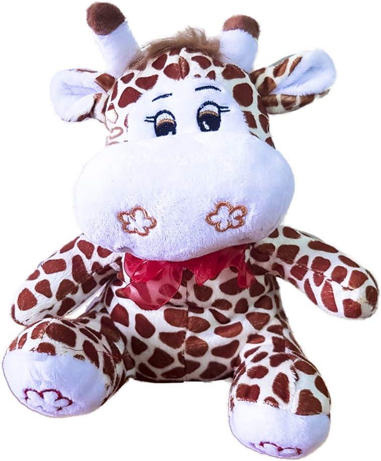 Warmies. Peluche térmico de jirafa. Peluche para calentar en microondas. Peluche con relleno natural de flores de lavanda y semillas