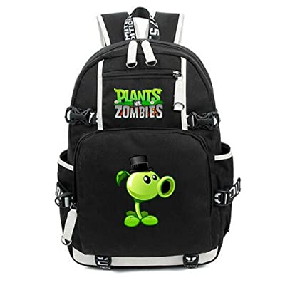 Siawasey Cute Plants Zombie Hot Game Bookbag Backpack School Bag high-quality