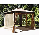 Cheap 10 x 10 Square Post Gazebo Replacement Canopy