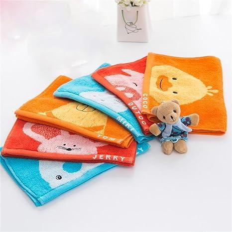 Griffin-Toalla de algodón cartoon niños, algodón, diseño de mono absorbente Toalla lavado