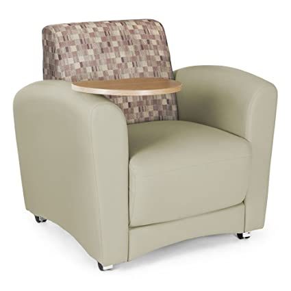 Magnificent Amazon Com Interplay Lounge Chair With Tablet Arm Inzonedesignstudio Interior Chair Design Inzonedesignstudiocom